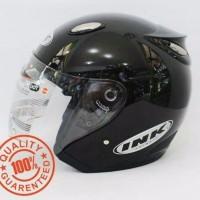 Helm INK Centro SNI warna Hitam Metalik - bukan KYT - NHK -Bogo - Anak