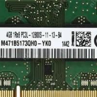 Dijual Ram Ddr 3 Samsung 4Gb Pc3-12800 Ddr3-1600 Sodimm Murah