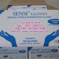 HOT SALE Sensi Gloves / Sarung Tangan Sensi Nitrile / Powder Free /