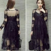 Long Dress Baju Gaun Pesta Import GI-D70325
