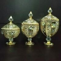 Toples Capodimonte 3 Set (Golden Gold)