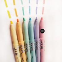Pilot Frixion Light Pen Colour Color Highlighter Warna Pastel