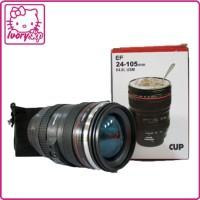 Gelas Botol Mug Lensa Canon EF 24-105 mm Stainless steel 400 ml
