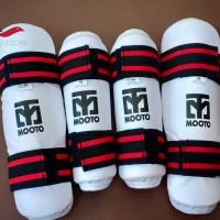 Pelindung tulang kering tangan dan kaki Taekwondo / Deker IMPORT