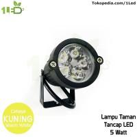 Lampu sorot LED outdoor 5W Kuning tahan air weatherproof 5 W Watt
