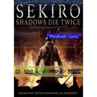 SEKIRO SHADOWS DIE TWICE CD DVD GAME PC GAMING PC GAMING LAPTOP GAMES