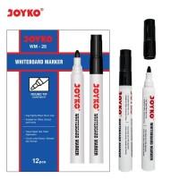 Whiteboard Marker / Spidol Papan Putih Joyko WM-28 HITAM