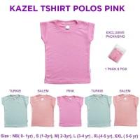 Kazel - Tshirt Polos Pink