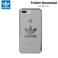 Adidas Originals Trefoil Clear Case iPhone 8+ - Silver