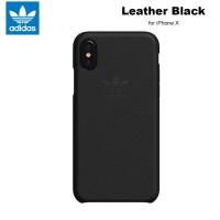 Case iPhone X Adidas Originals Premium Leather Slim Case - Black