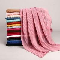 [Ready Depok] Pashmina import premium wrinkle hijab rawis crinkle hija