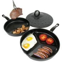 New DIVIDE WONDER PAN SET AS SEEN ON TV / Divided Pan Set