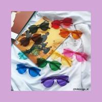 Kacamata korea/kacamata warna warni/kacamata kekinian/kacamata gaul