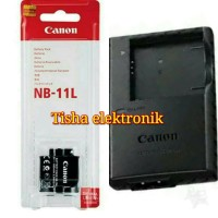 Paket baterai/charger kamera Canon powershot A2300
