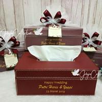 Souvenir box tissue