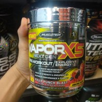 Bpom Muscletech Vapor X5 nextgen 30 serving VaporX5 preworkout Curse