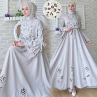 Baju Busana Muslim Gamis Wanita Terbaru Aulia Maxi