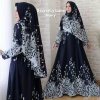 Baju Busana Muslim Gamis Wanita Terbaru Balotelly Luna