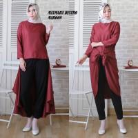 Baju Atasan Wanita Muslim Kemeja Blouse Destro Terbaru