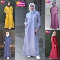 Gamis Muslimah Syari Nibras NBC 04 Ukuran XXL