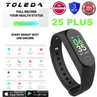 TOLEDA SmartBand TLW 25Plus Original 100% Smartwatch