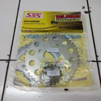 Gear set SSS 428 CB150R - CB150R LED - CBR150 rantai SSS GOL B1cmg1499