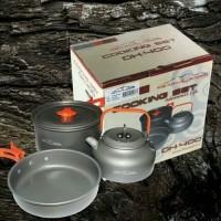 ALAT MASAK NESTING COOKING SET DHAULAGIRI DH 400 - Rabbani Outdoor