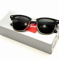 Sunglasses Rayban Clubmaster Polarized RB 3016 901/58 Original
