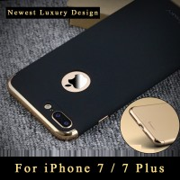 Ipaky 3 In 1 Plating Case untuk iPhone 7 Plus Case Cover Luxury
