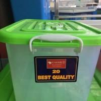 Box Container / Kotak Kontainer Plastik Serbaguna 20L GOJEK ONLY!!!