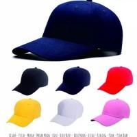 Topi baseball warna warni polos keren murah berkualitas