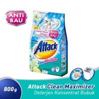 Attack Deterjen Bubuk Clean Maximizer 800 gram / Attack Biru 800gram