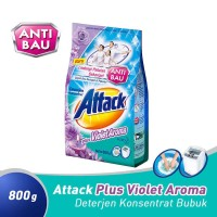 Attack Deterjen Bubuk Plus Violet Aroma 800 gram / Attack Ungu 800gram