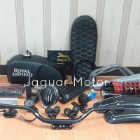 Paket Japstyle Royal Enfield Black Dof