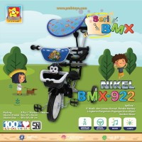 Sepeda anak Roda Tiga PMB 922 crom kanopi & music lampu