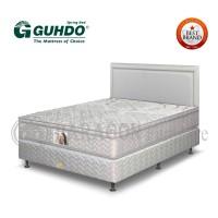 Spring Bed Standar plush top 160x200 cm Prospine Style-Full Set Guhdo