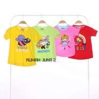 GROSIR Kaos Oshkosh Girl Atasan Ada Hangtag Polybag Pakaian Baju Anak