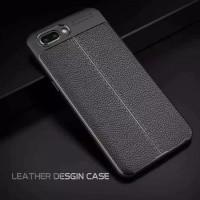 Leather Case Huawei Y6 2018 slim Auto Focus carbon soft