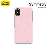 Case iPhone X / Xs OtterBox Symmetry On Fleck - Pink