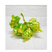 Ketupat Kecil Hijau Kuning Lebaran Mini Unik Dekorasi Parcel Pintu