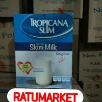 TROPICANA SLIM SUSU SKIM MILK FIBER PRO 1000 GRAM ( LOW FAT MILK )