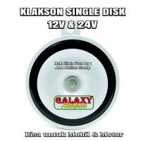 Klakson Single Engkel Disk 12v - Bisa utk Mobil dan Motor NEW