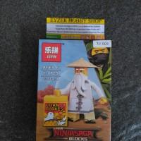 Lego Ninjago corn flakes minifigure bootleg kw murah