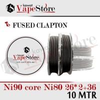 FUSED CLAPTON NI90 Core Mix Ni80 26*2+36 |GROSIR 10 METER