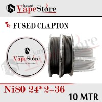 FUSED CLAPTON NI80 24*2+36 |GROSIR 10 METER