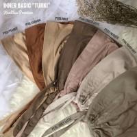 Inner Turki Kaos/ Ciput Polos Tali Premium - Putih