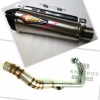 Knalpot Creampie TR1 Karisma/Revo 100/Absolute/Blade/New 125 Fi