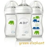 260 ml Elephant, Flower, Monkey Botol Susu Philips Avent Natural 260ml