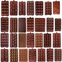 19 Bentuk 3D Silikon Signifikan Fruit Chocolate Cetakan Permen