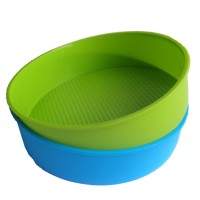 Silikon Cetakan Bakeware 26 Cm/10 Inci Bulat Bentuk Kue Baking Pan